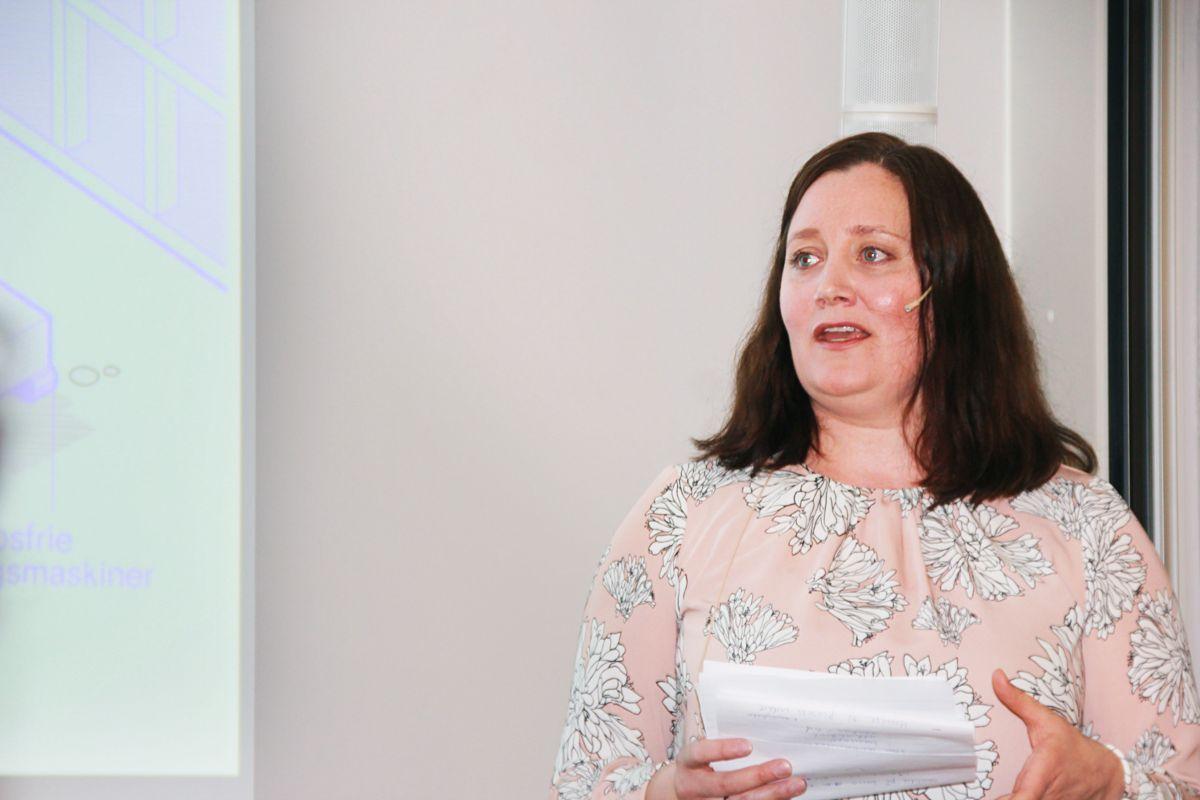 Tina Sølvberg, klima- og miljøansvarlig i Nasjonalt program for leverandørutvikling i NHO. Foto: Svanhild Blakstad