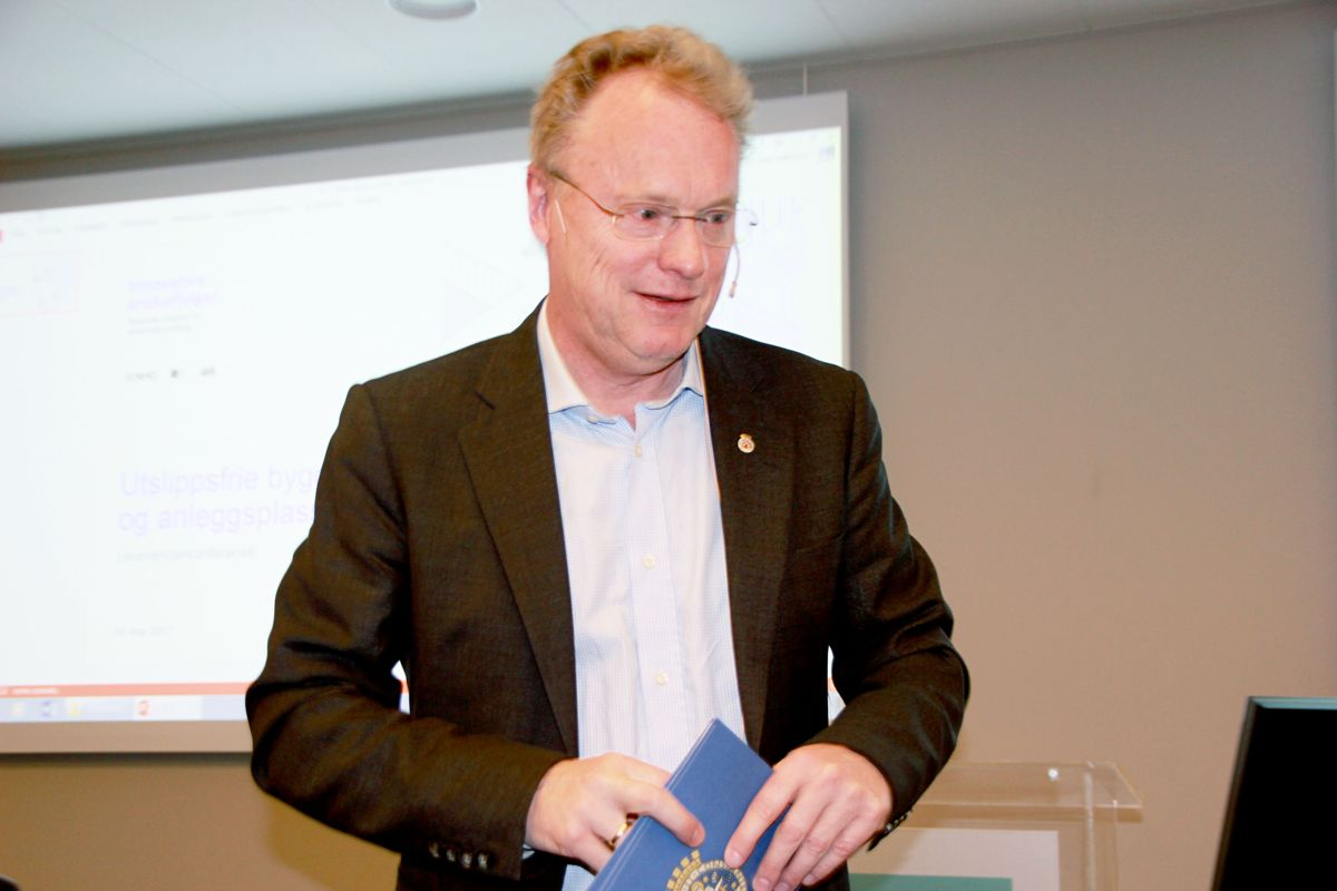 Byrådsleder Raymond Johansen i Oslo kommune. Foto: Svanhild Blakstad