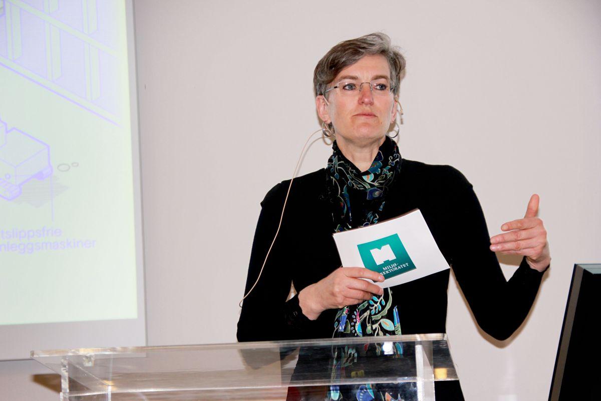 Direktør Ellen Hambro i Miljødirektoratet. Foto: Svanhild Blakstad