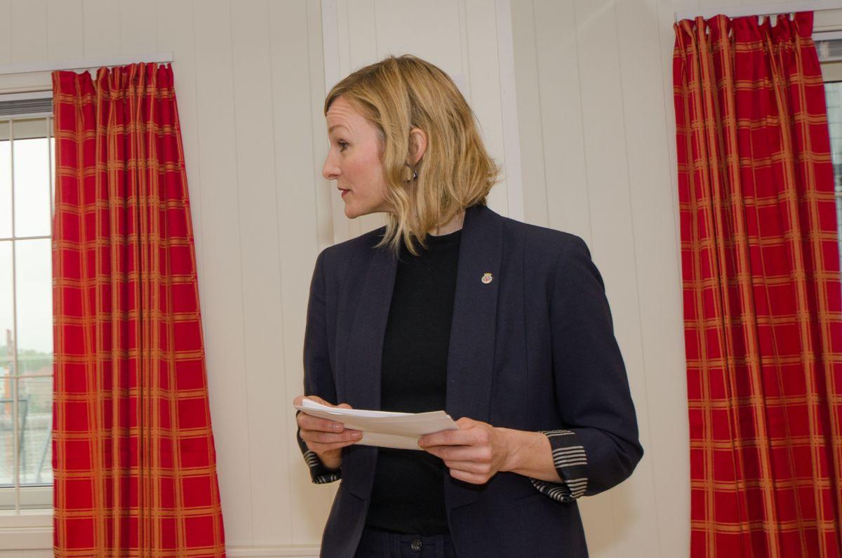 Byråd for eldre, helse og sosiale tjenester Inga Marte Thorkildsen.