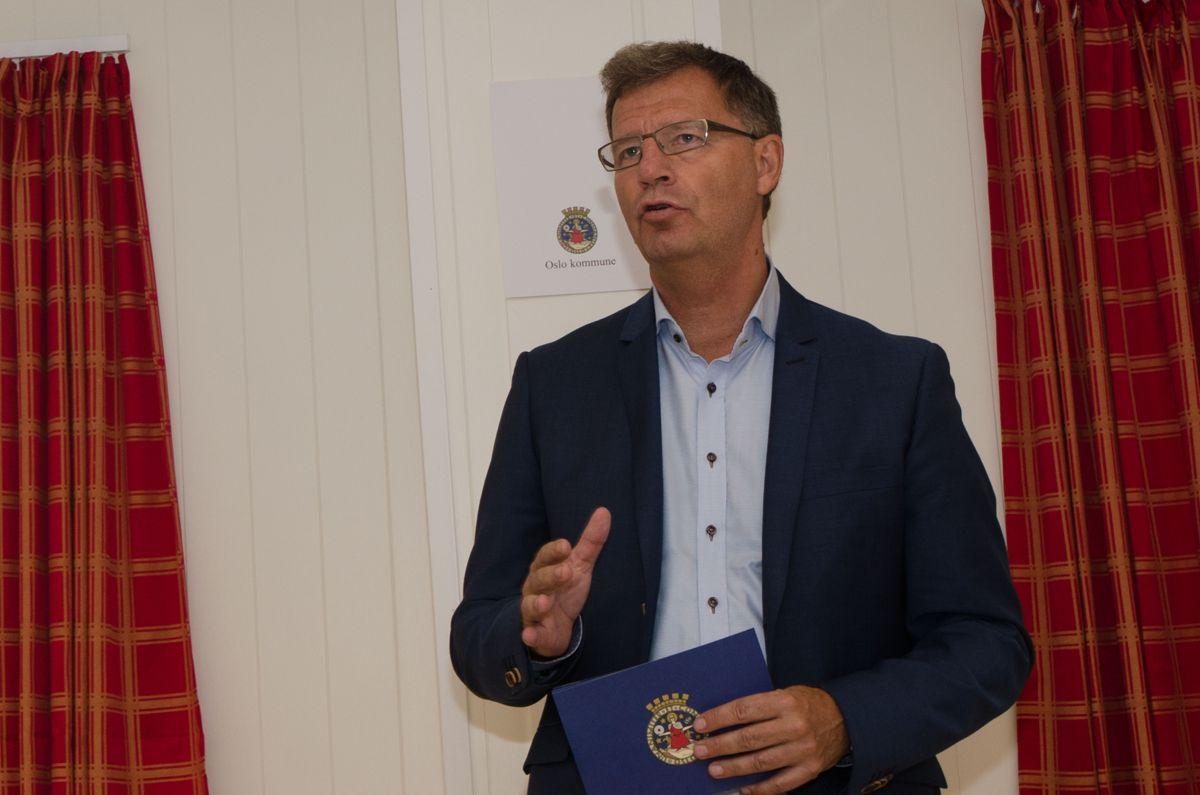 Finansbyråd i Oslo, Robert Steen.