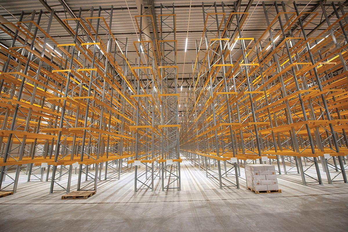 DSV på Vestby, 12.11.2020 Foto: Trond Joelson, Byggeindustrien