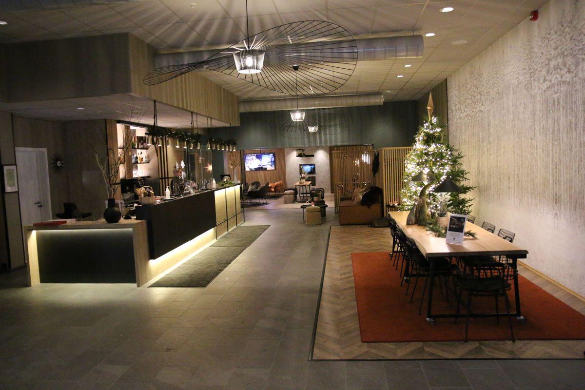 Eksistrende hotell sto ferdig renovert i januar, og var ikke en del av Backe Opplands totalentreprisekontrakt på cirka 60 milioner kroner eks. mva.
