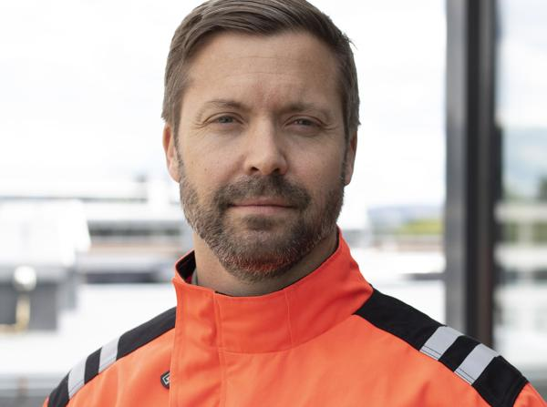 Martin Gadd er daglig leder i Geo Fundamentering & Bergboring og direktør for Spesialenheter i Veidekke Infrastruktur.