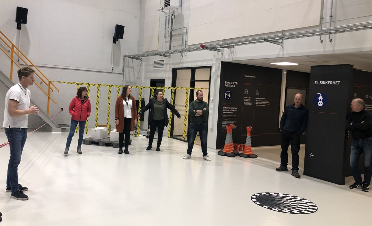 HMS Forum Agder på SafeWork sikkerhetssenter ved Glencore Nikkelverk i Kristiansand.