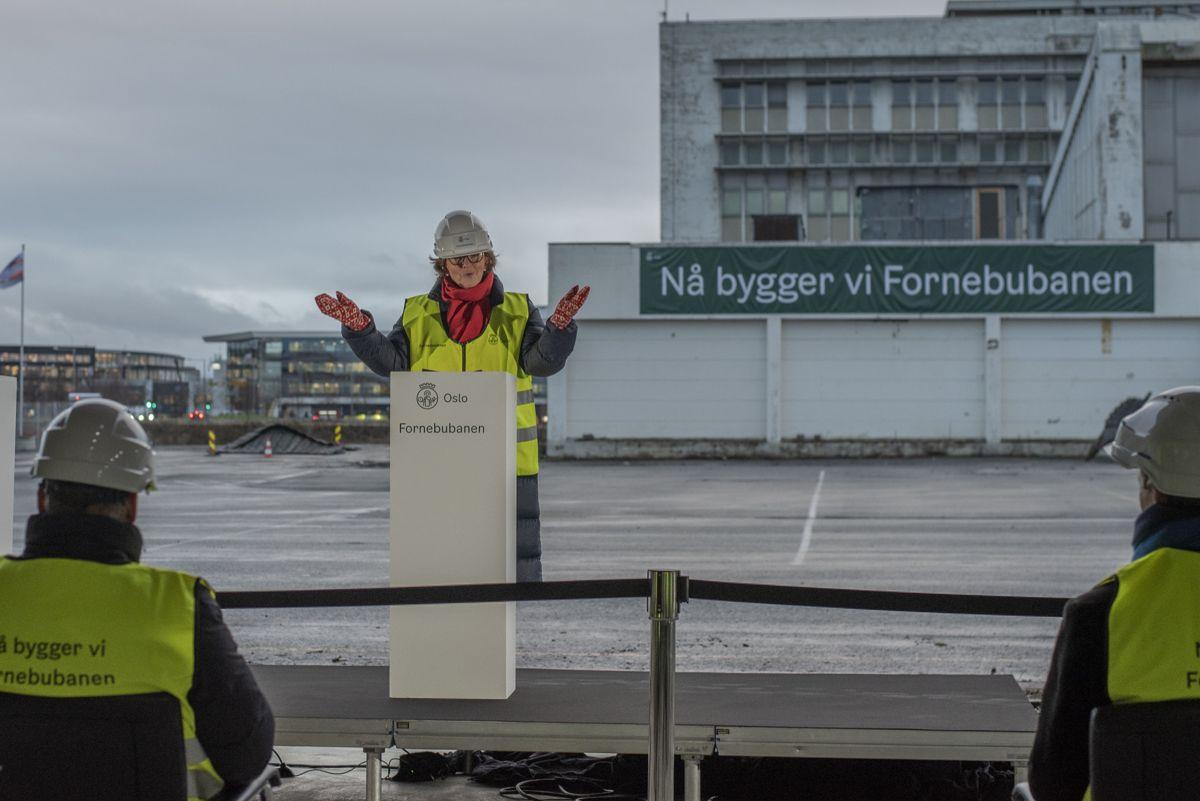 Bærum-ordfører Lisbeth Hammer Krog.