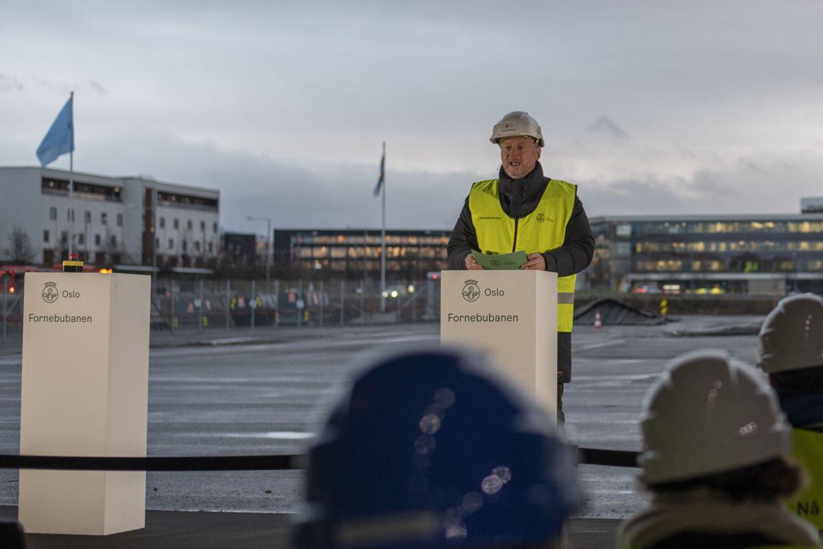 Byrådsleder Raymond Johansen i Oslo.