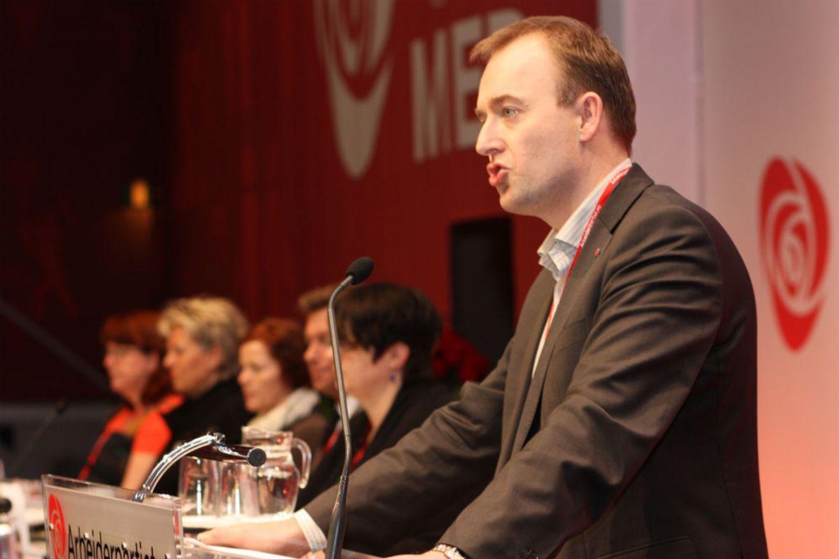 <p>Samferdselspolitisk talsmann Eirik Sivertsen i Arbeiderpartiet. Arkivfoto.</p>