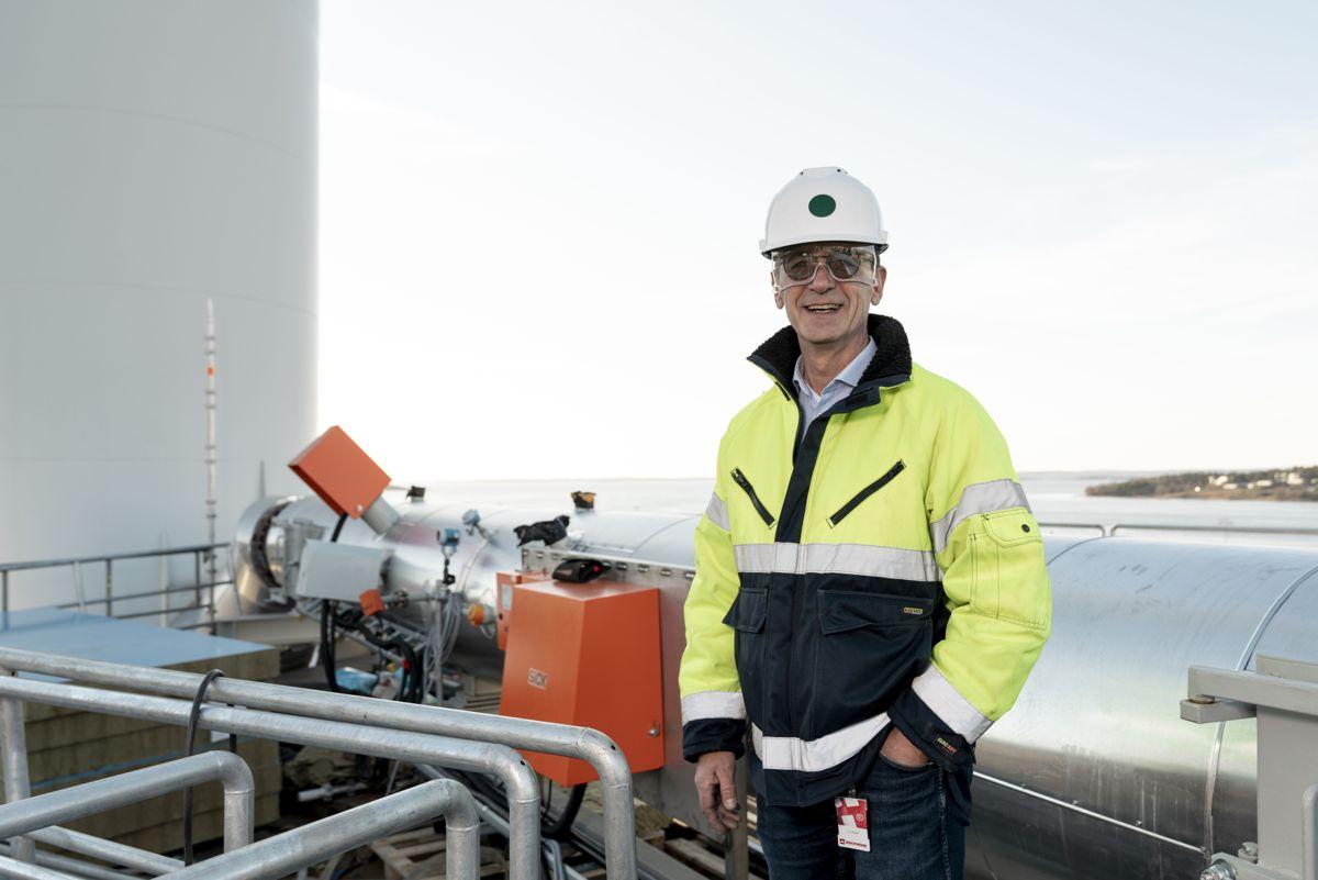 Fabrikksjef i Moss Erik Ølstad i Rockwool Norge. Foto: Rockwool