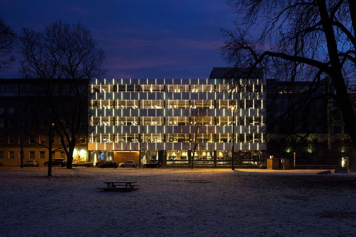 Mat- og merkevarehuset på Grünerløkka. Foto: Adam Stirling