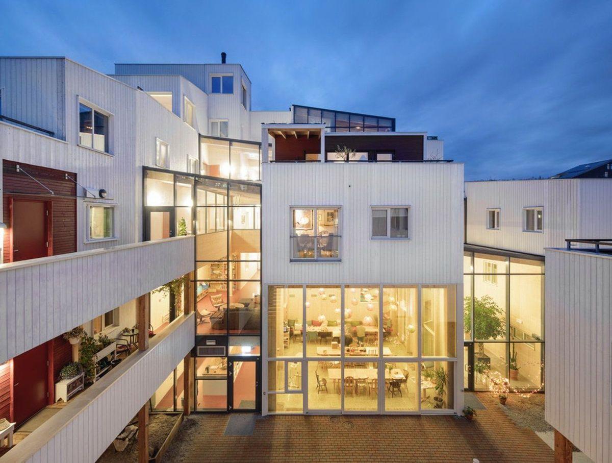 Vindmøllebakken, Stavanger. Arkitekt: Haga & Grov. Byggherre: Solon