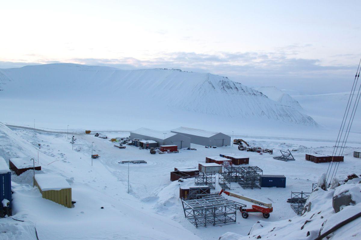 Lunckefjell-anlegget ble bygget i perioden 2011-2014.