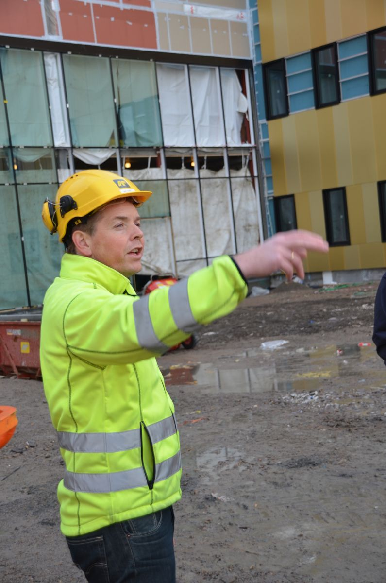 Prosjektleder for AF, Bård Degnes.
