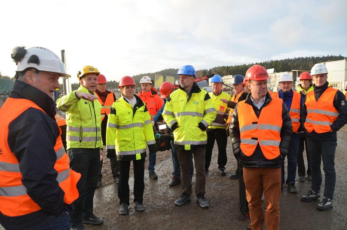 I overkant av 30 personer var med på EBAOs samling i Sarpsborg torsdag.