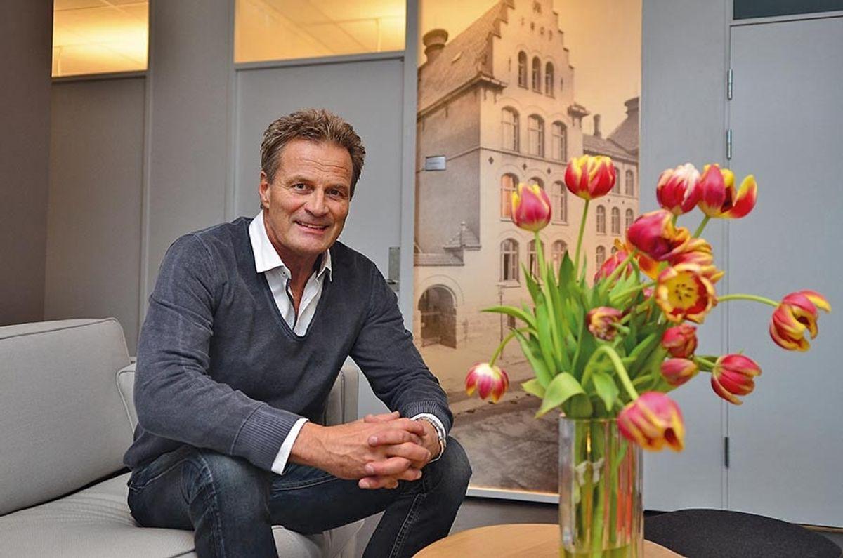 Lennart Helin, medeier i totalentreprenør Strukta.