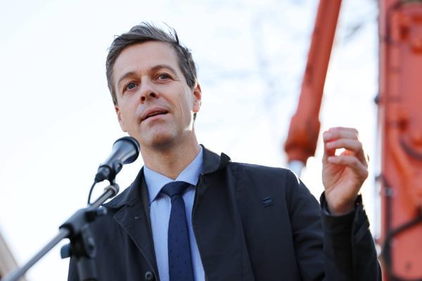 Samferdselsminister Knut Arild Hareide. Foto: Ørn E. Borgen / NTB