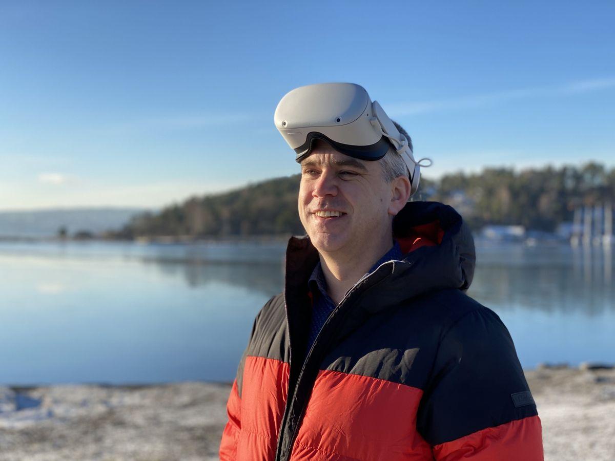 James Dodson, faglig leder i Spinn Arkitekter. Foto: Spinn Arkitekter