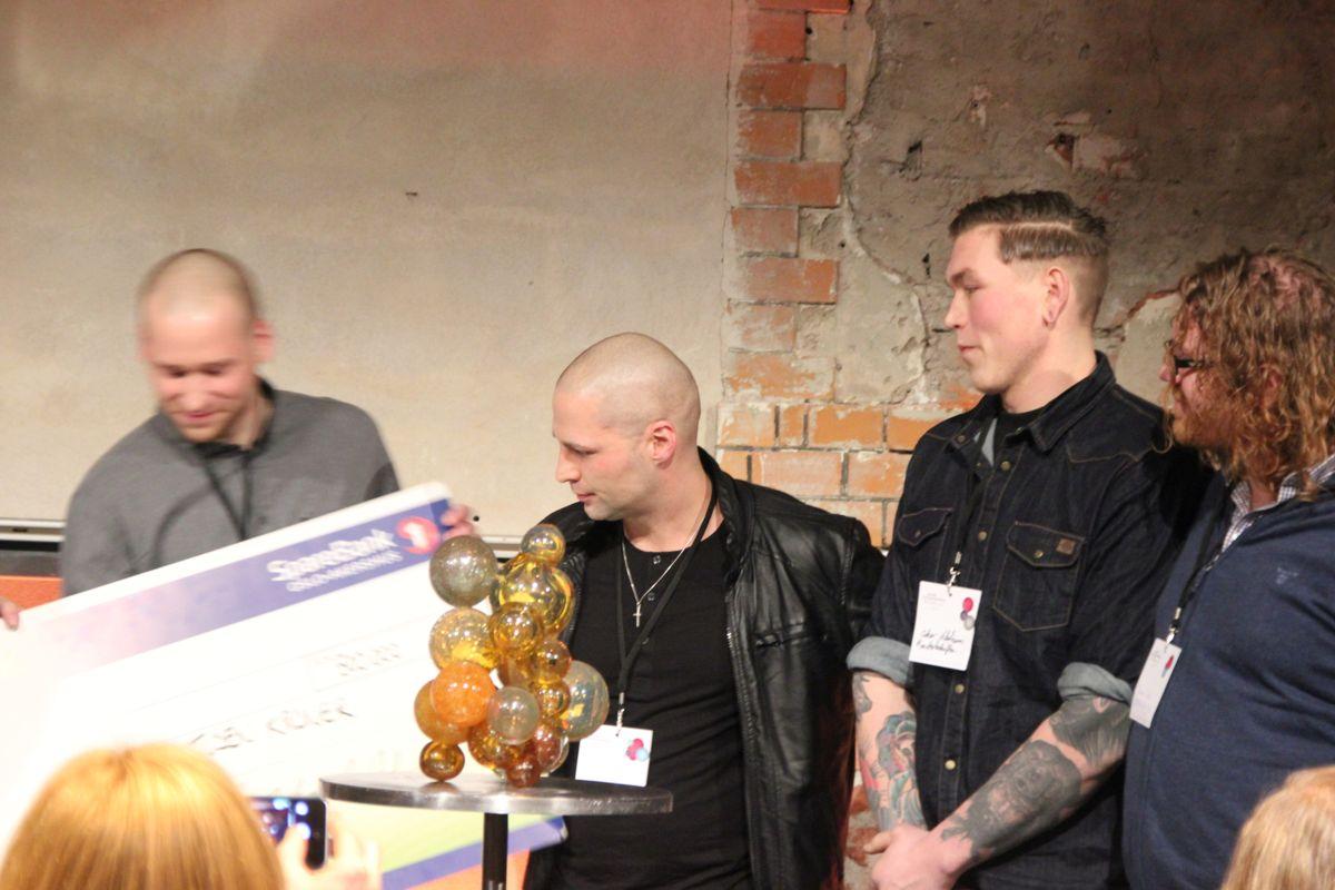Monsterbedriften er Årets sosiale entreprenør. (Foto: Svanhild Blakstad)