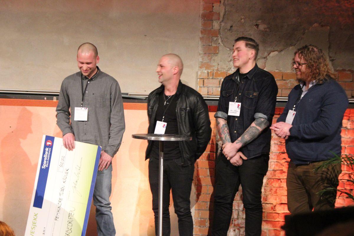 Monsterbedriften ble kåret til Årets sosiale entreprenør 2014. (Foto: Svanhild Blakstad)