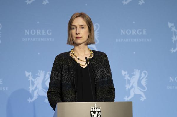 Næringsminister Iselin Nybø. Foto: Torstein Bøe / NTB