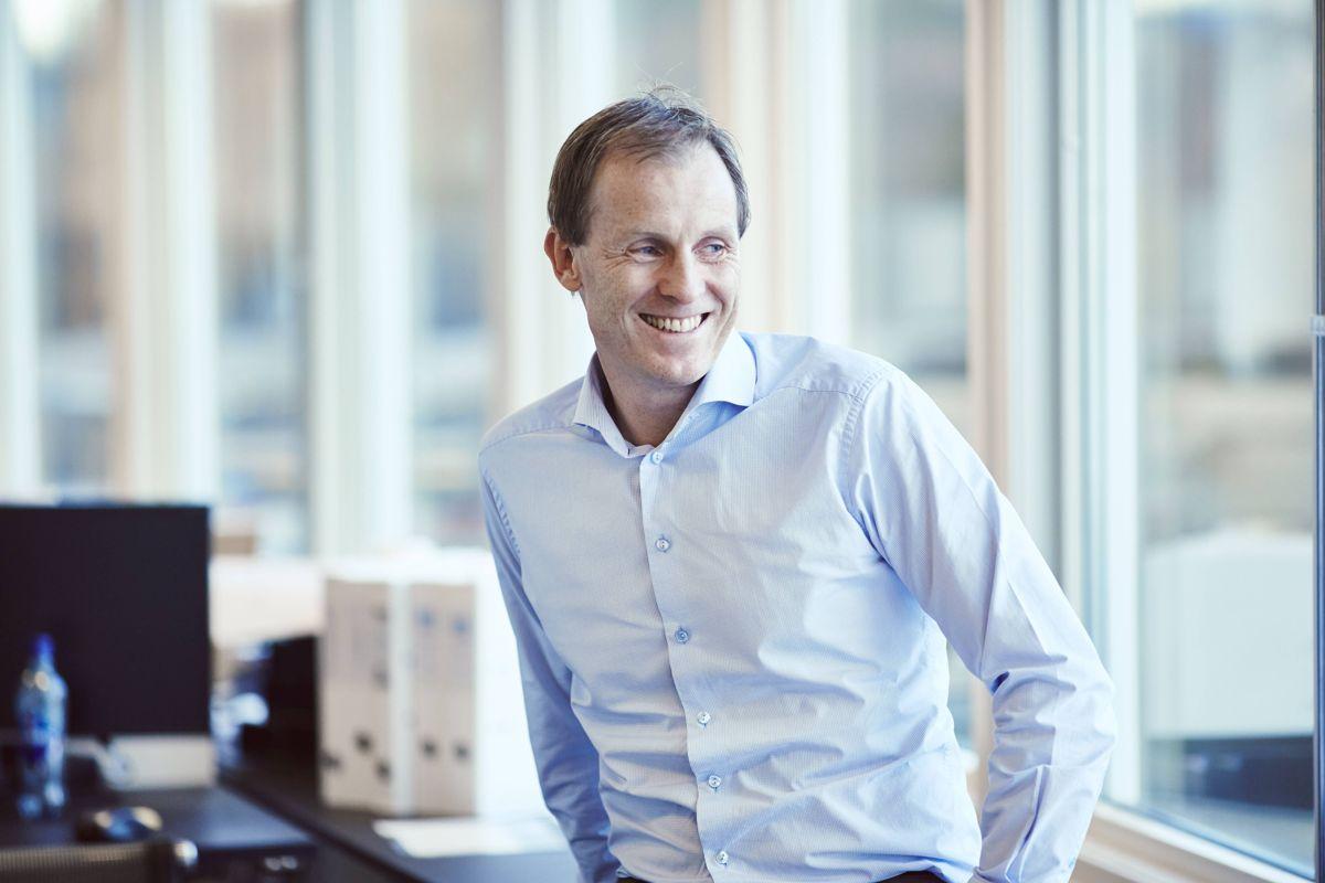 Eirik Gjelsvik fortsetter som styreleder i EBA. Foto: Backe