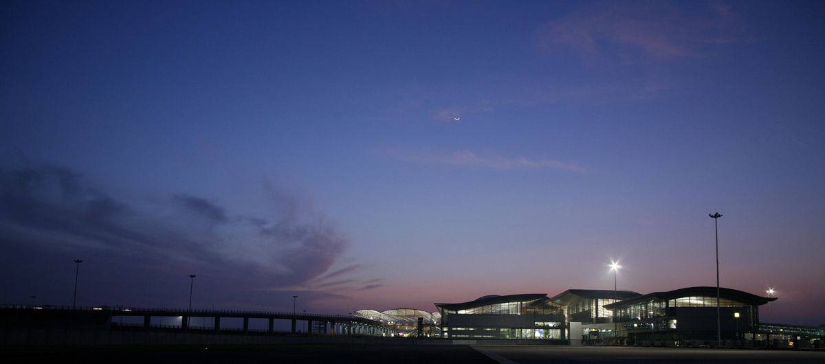 Rajiv Gandhi Airport i India. Illustrasjon: Nordic