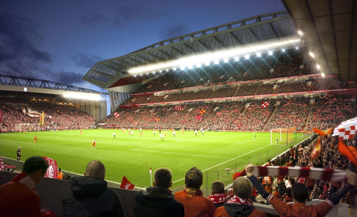 Det er ikke lenge siden Anfield ble utvidet. Da var det Main stand som fikk et stort løft.