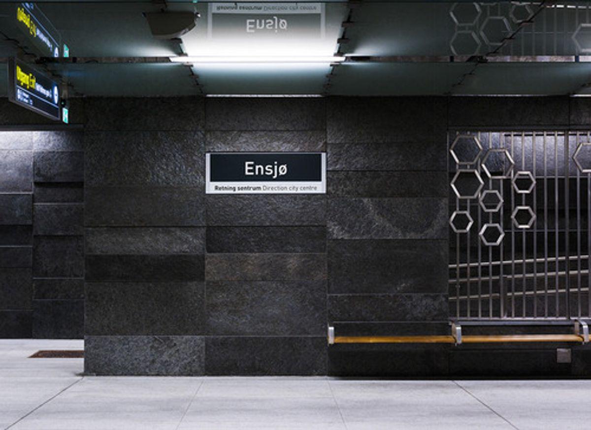Nominert: Ensjø stasjon.