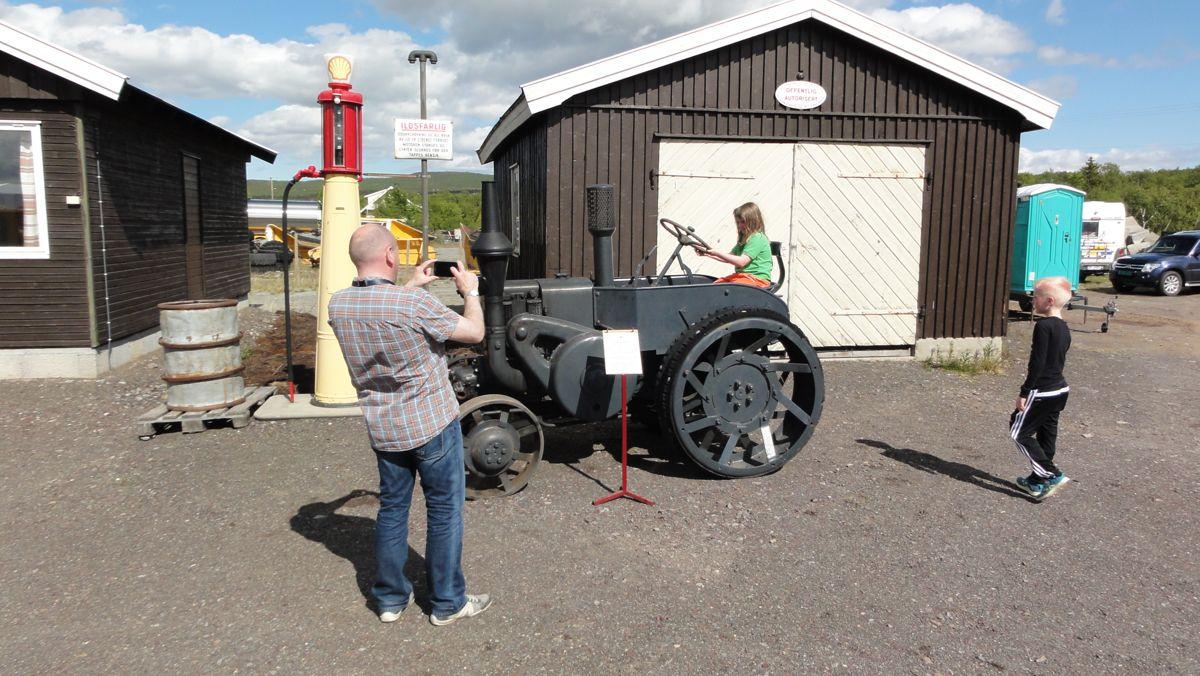 Den gamle Lanz Bulldog-traktoren er en av de mange sliterne som har fått nytt liv.
