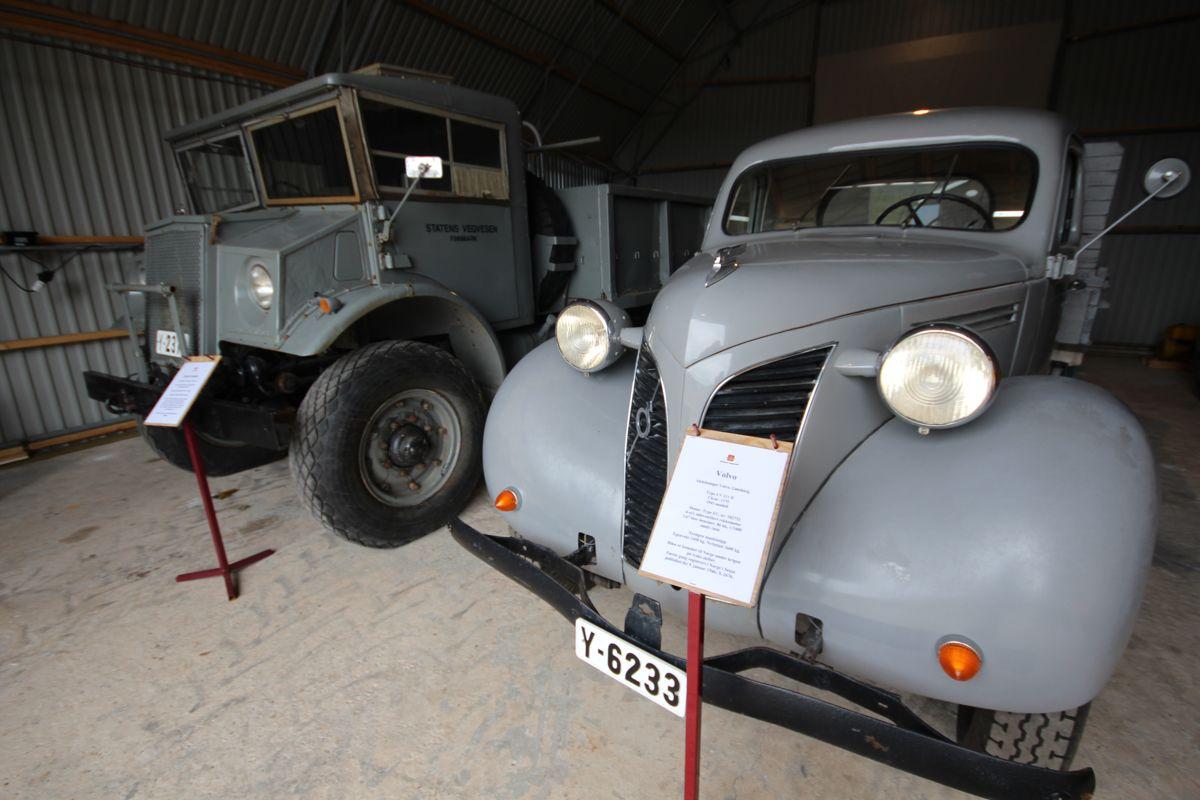 <p>Ford Canada-bilen fra 1943 og Volvo lastebilen fra 1941 har vært gjennom et møysommelig restaureringsarbeid som har tatt nær tjue år. Alle foto: Statens vegvesen<br></p>