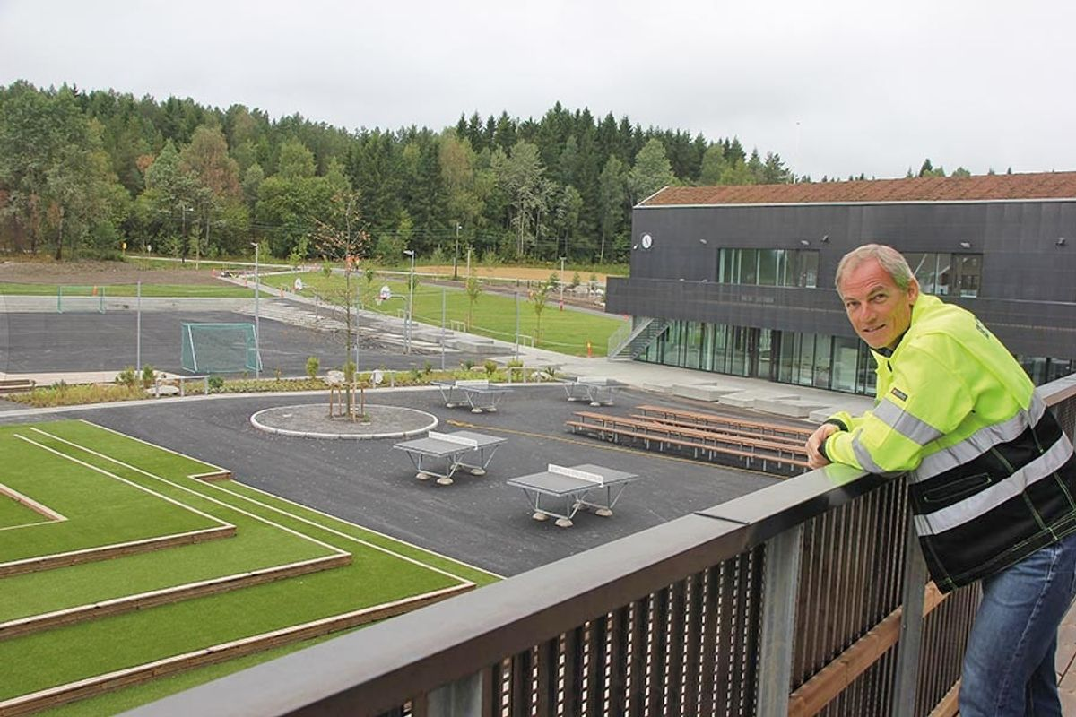 Prosjektleder Nils Olaf Thonvald i Betonmast Romerike