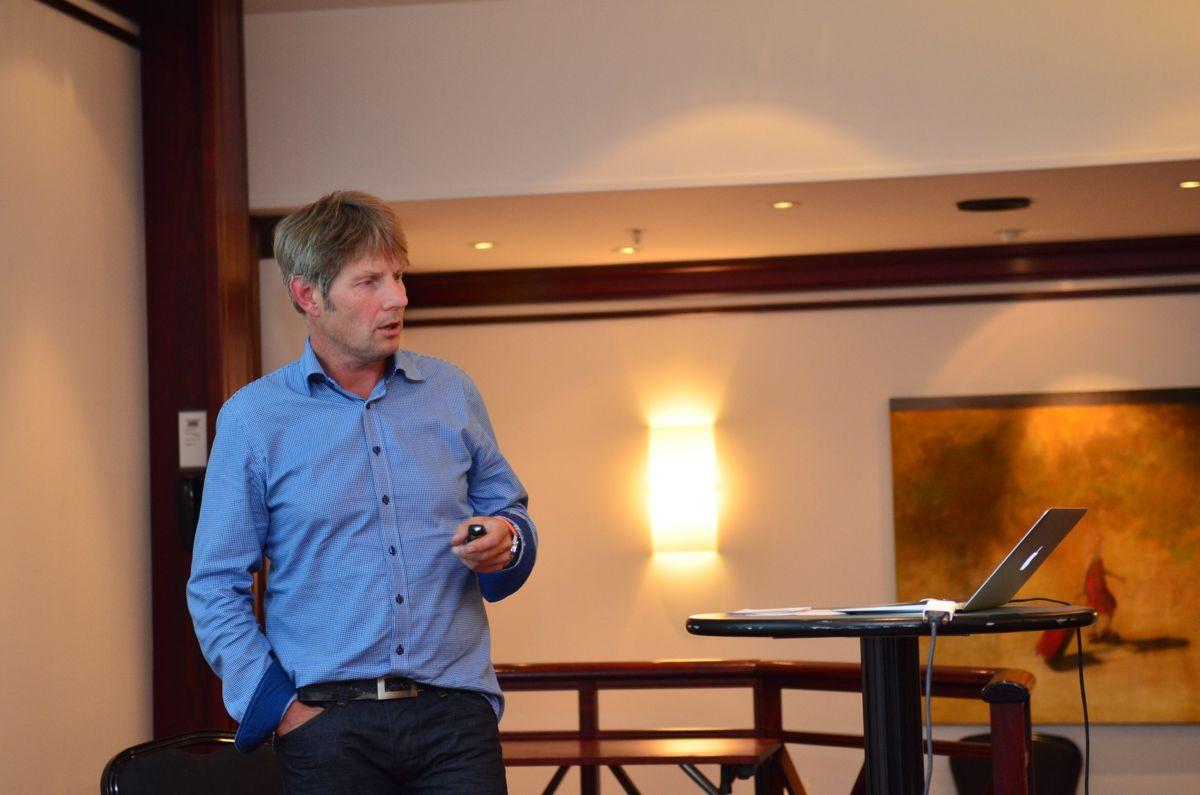 Styreleder Gunnar Thompson i EBA Sørlandet.
