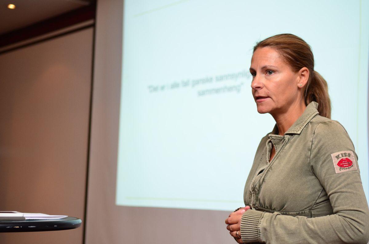 Kontorleder Camilla Espedalen i Norconsult tok for seg SHA.