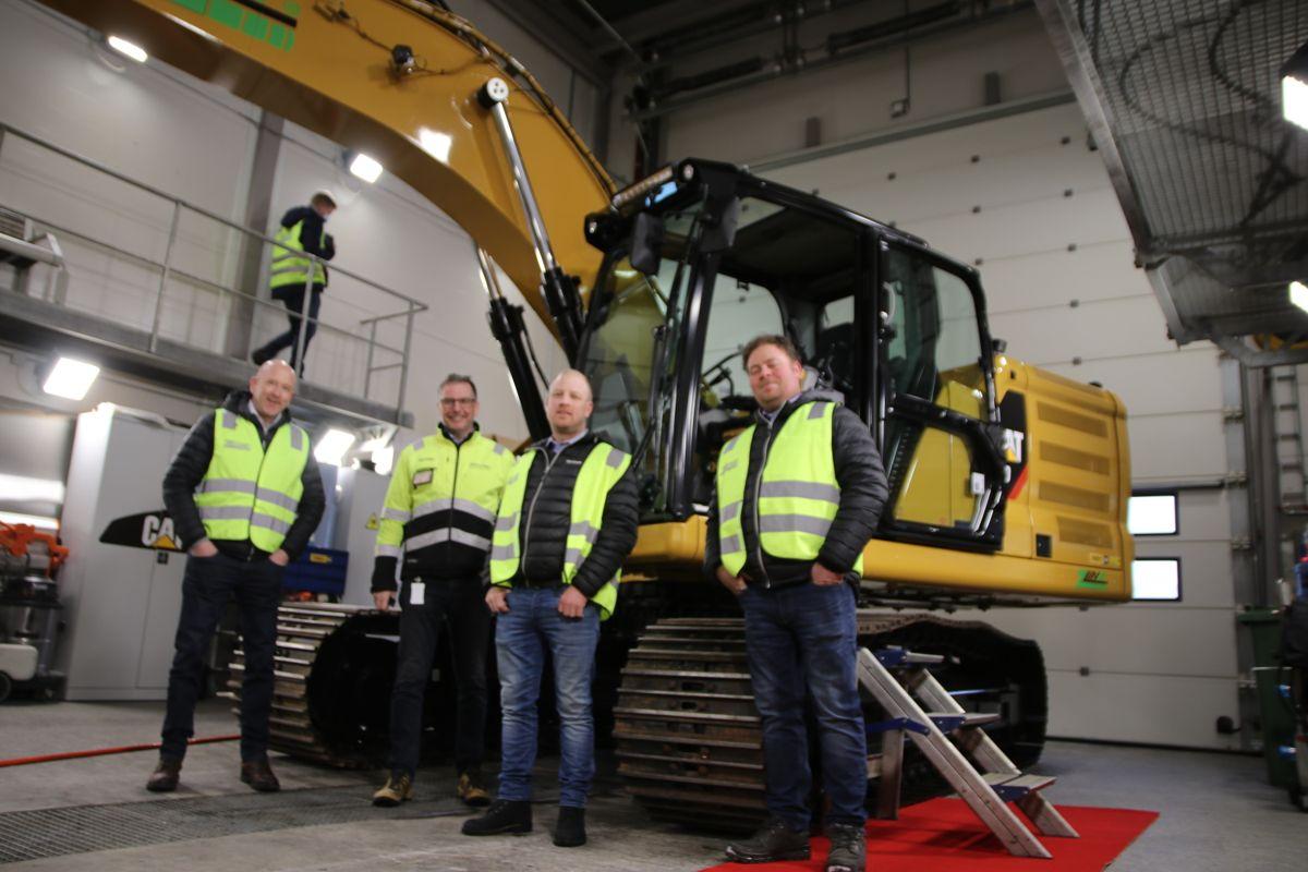 Kjeldaas AS har kjøpt inn en en 320 Z Line, som skal settes res i arbeid på Ekeberg-prosjektet i regi av Vann- og avløpsetaten i Oslo kommune.