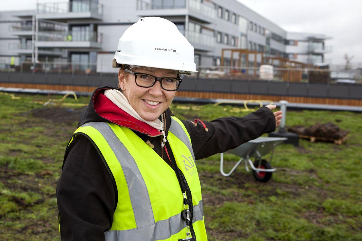 Miljøsjef Heidi Lyngstad i KLP Eiendom. (Foto: Tor Lie)