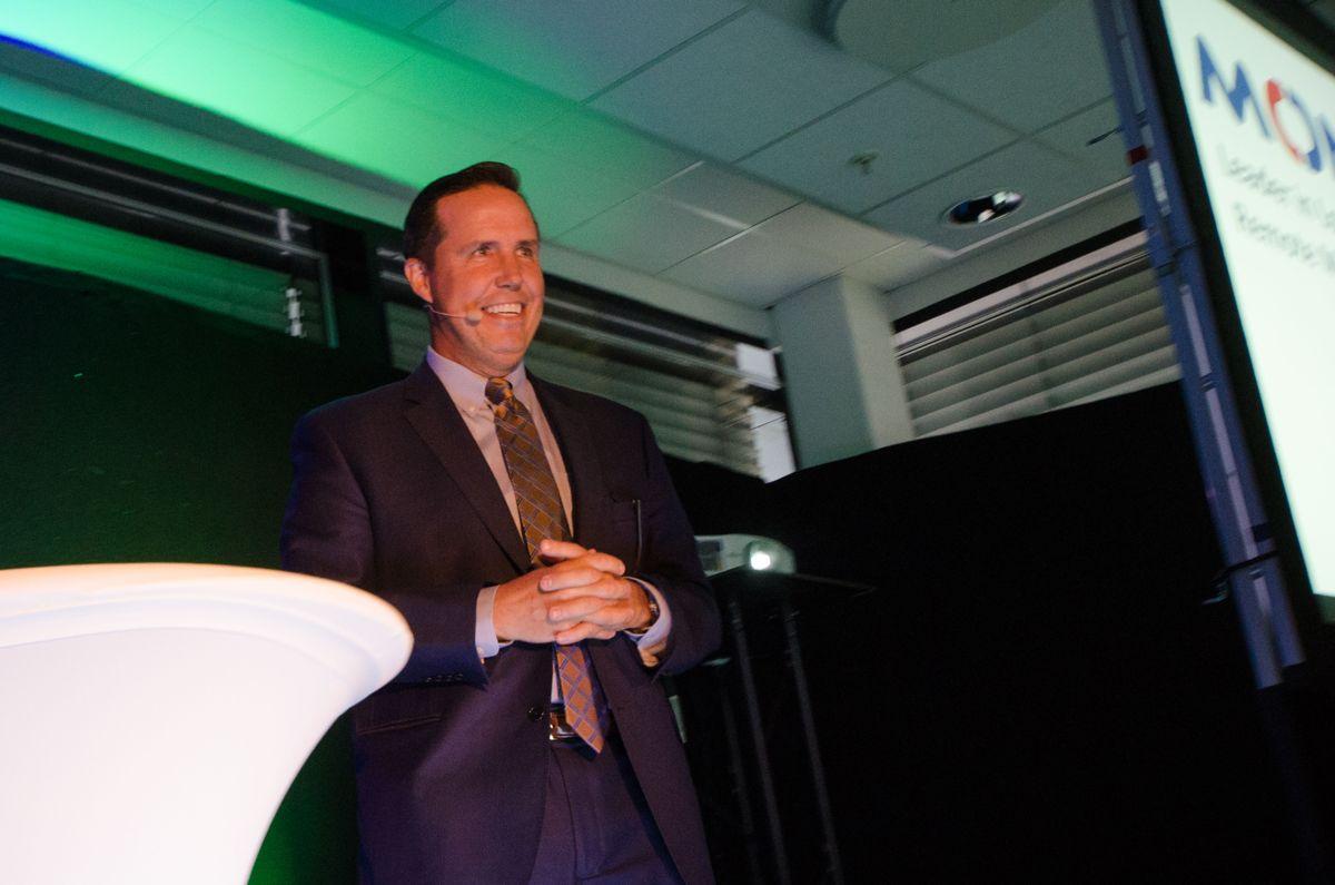 Administrerende direktør Brad Walters i Monnnit.