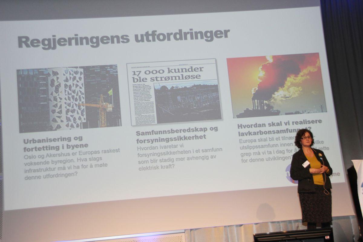 Daglig leder Heidi Juhler i Norsk Fjernvarme. Foto: Foto: Svanhild Blakstad