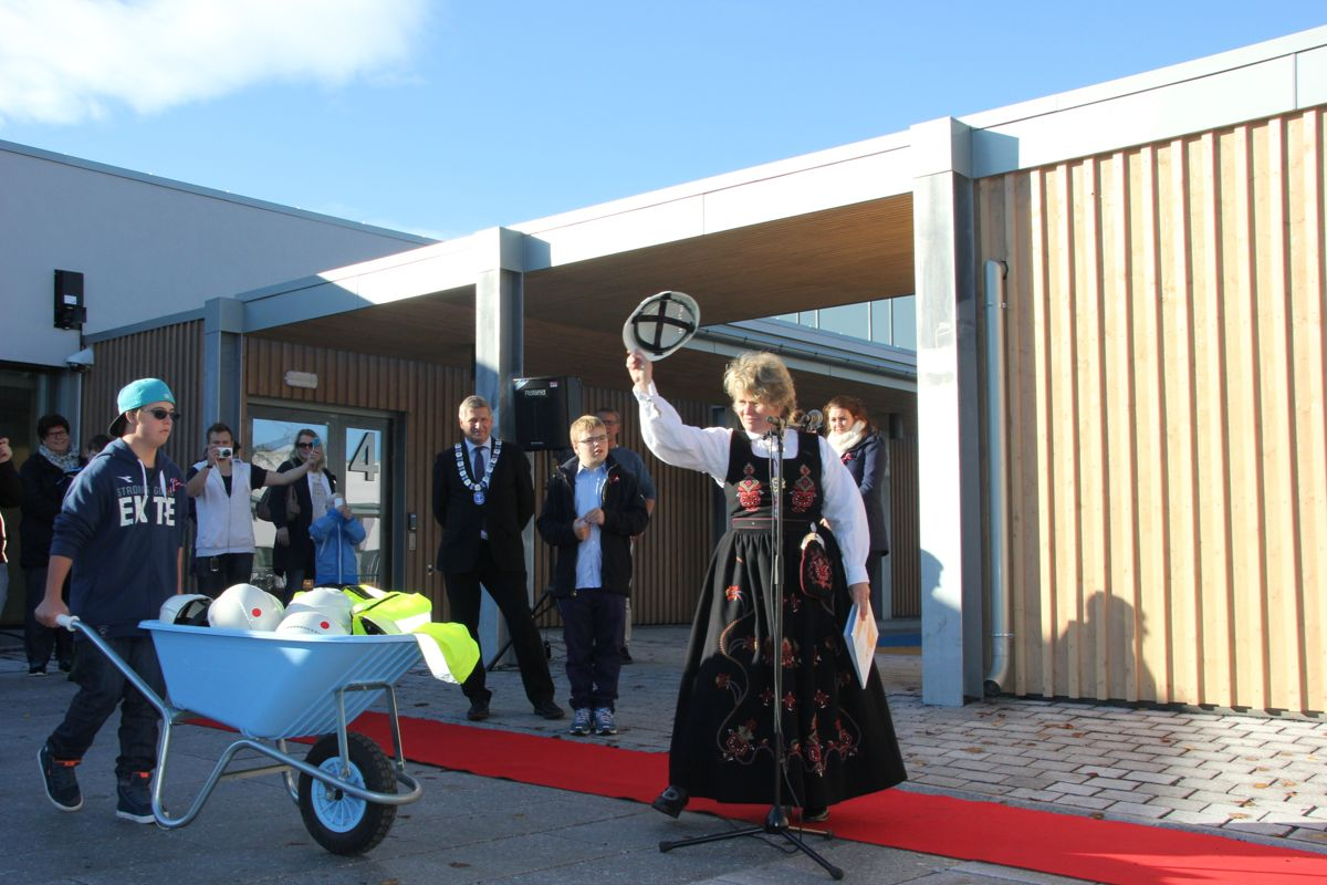 Åpning Frydeberg skole, Drammen. Foto: Foto: Svanhild Blakstad
