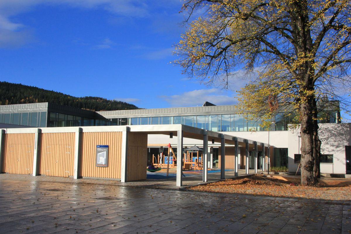 Frydenhaug skole, Drammen. Foto: Foto: Svanhild Blakstad