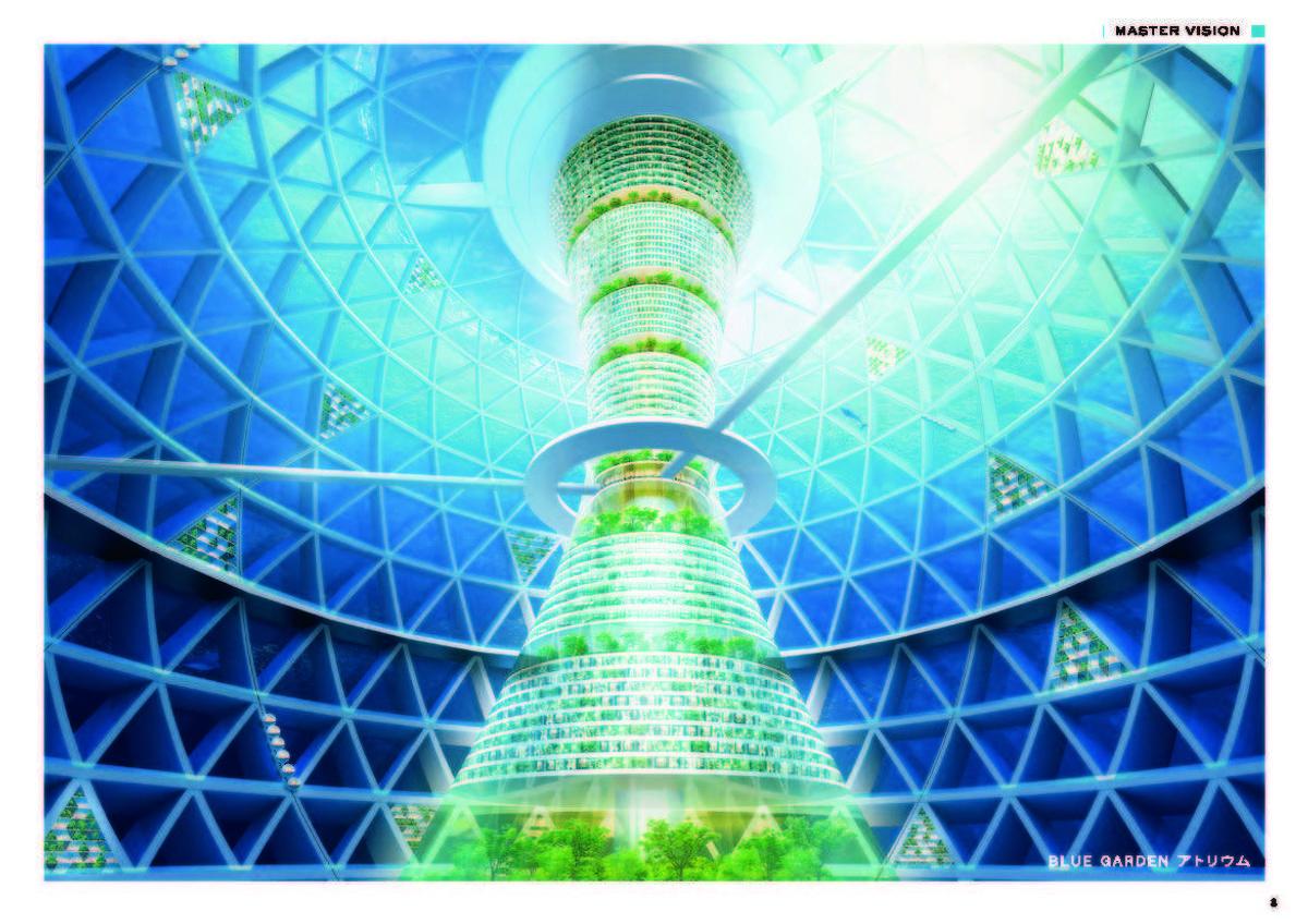Illustrasjon: Shimizu Corporation