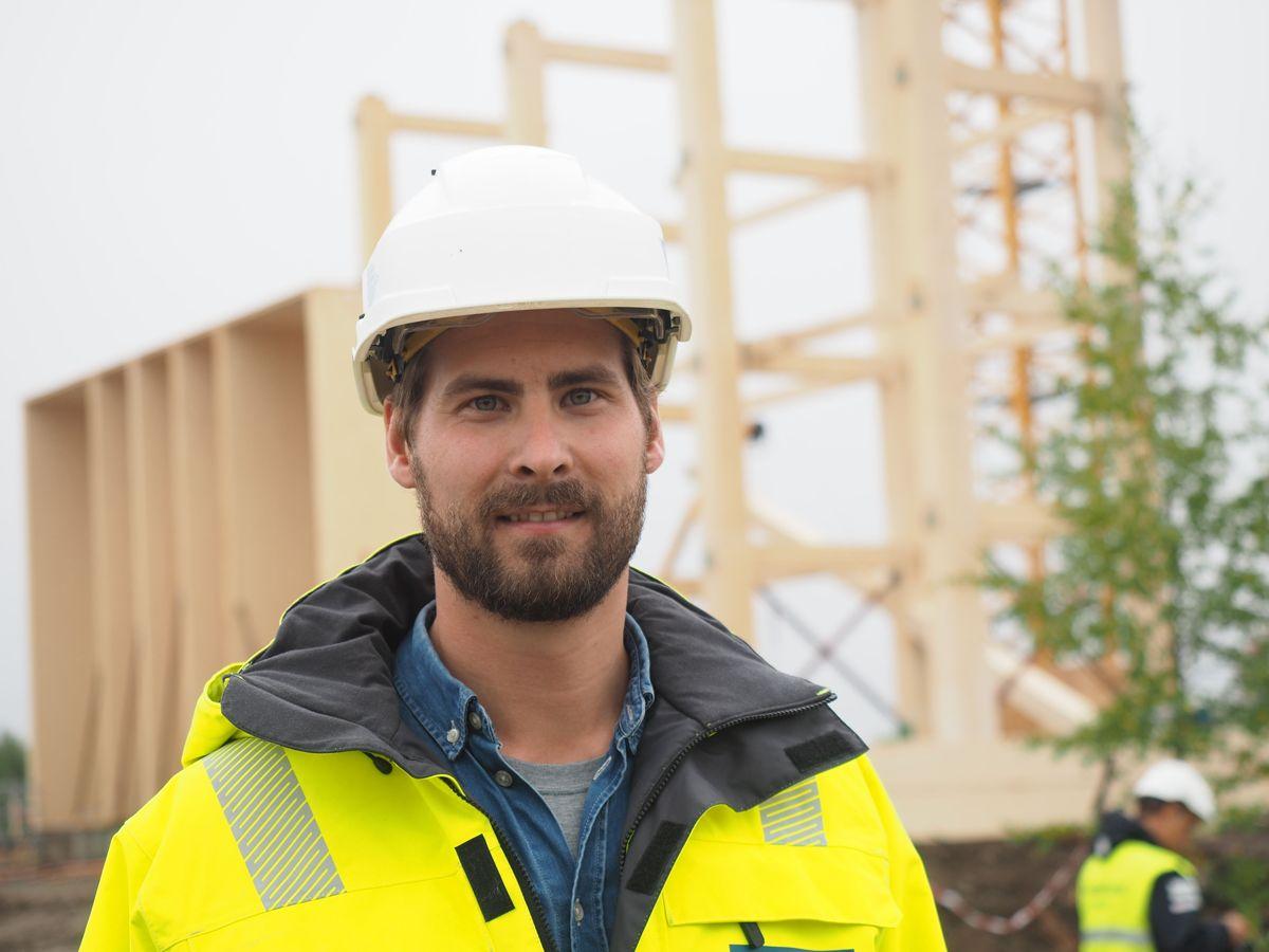 HENTs prosjektleder Erik Tveit. Foto: Jørn Hindklev