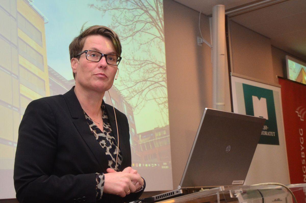 Klima- og miljøminister Tine Sundtoft.