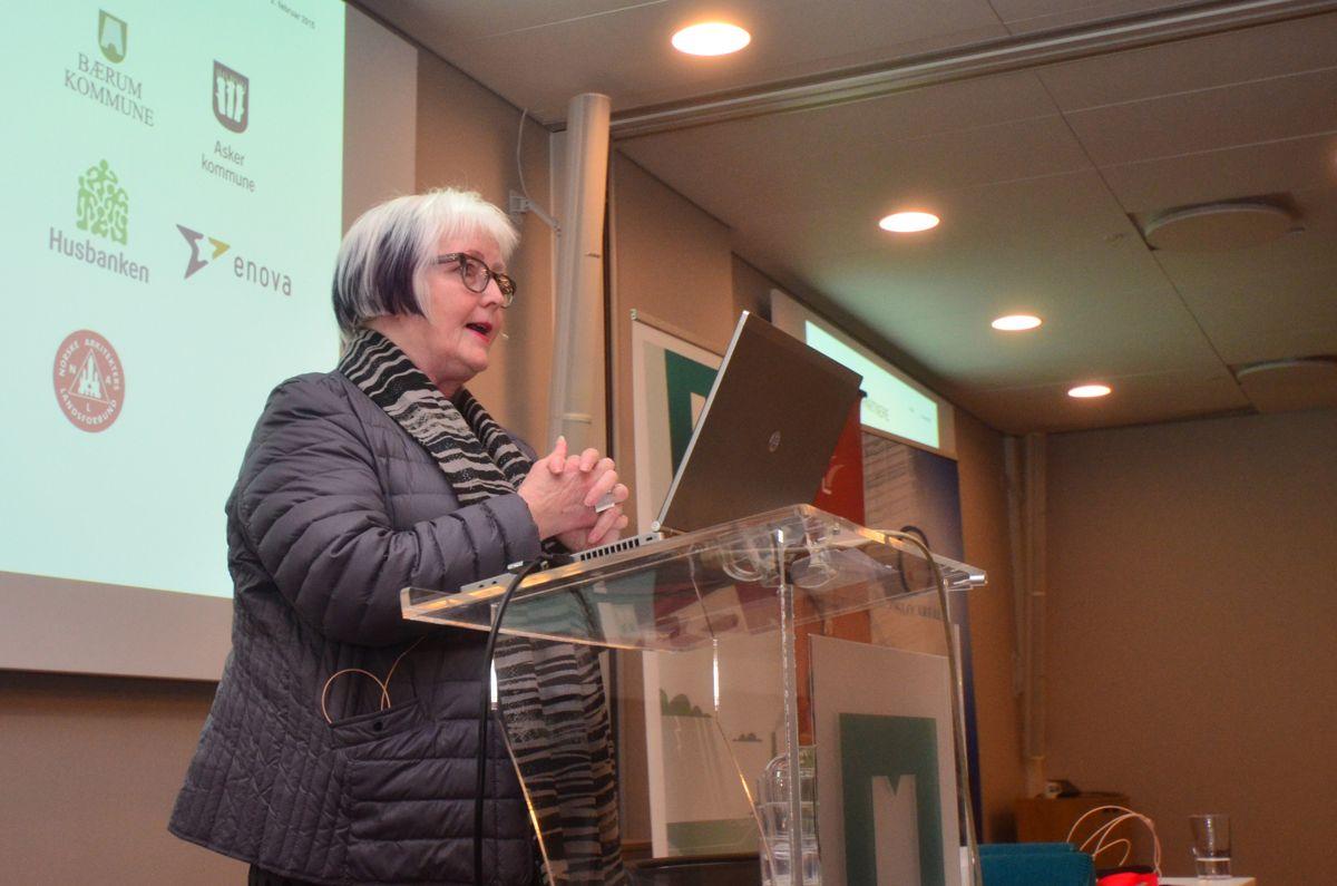 Plan- og bygningsetatsdirektør Ellen de Vibe.