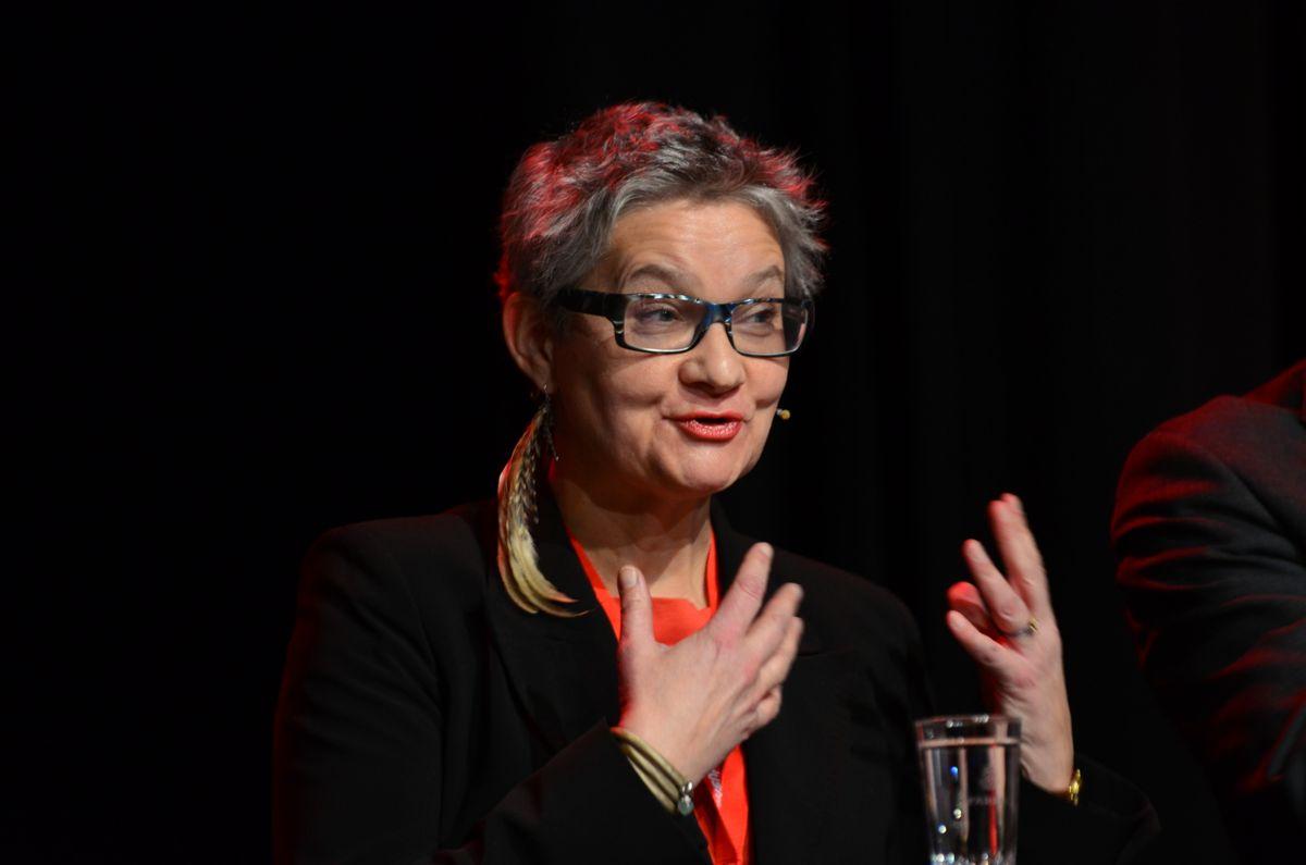Hanne Rønneberg under Byggedagene 2015.