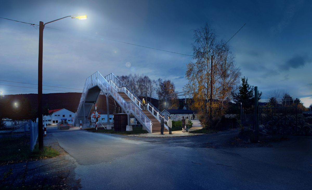 Steinberg Ill. Jernbaneverket