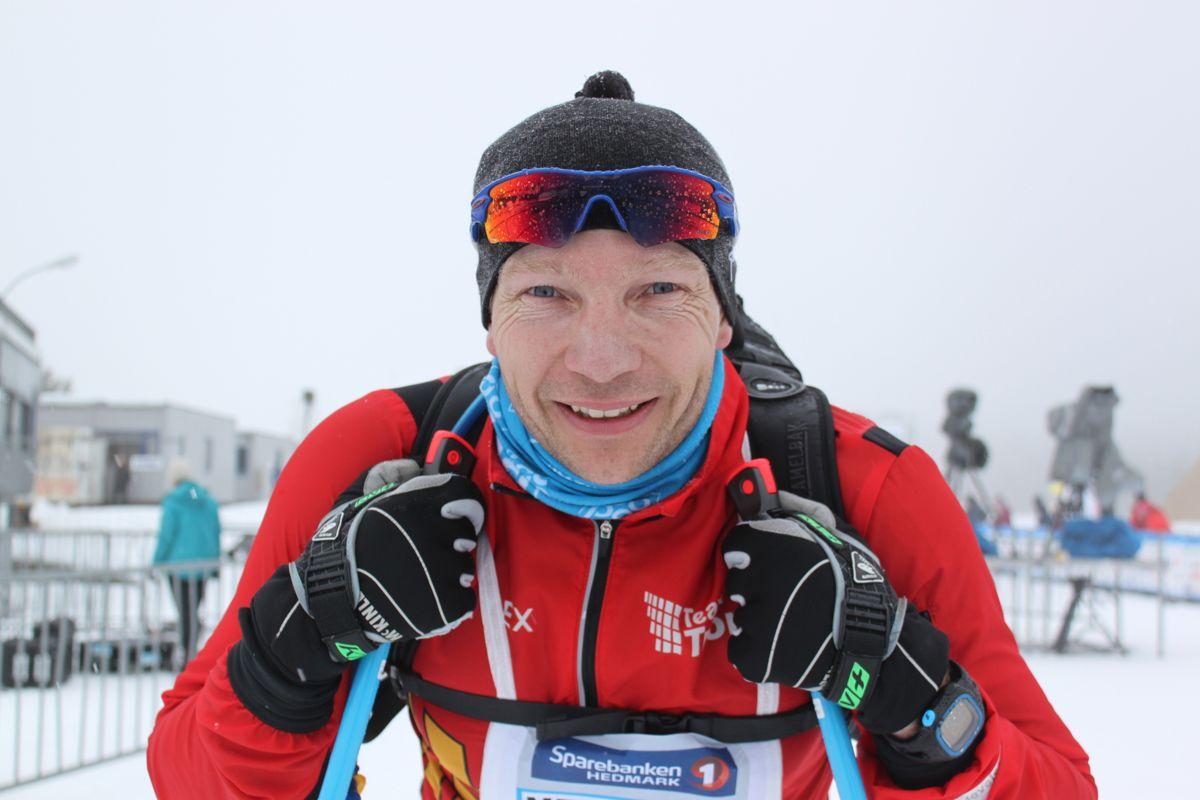 <p>- Det var veldig tungt, sa personalsjef Henning Sjøvaag i Tronrud Gruppen kort tid etter målgang.</p>