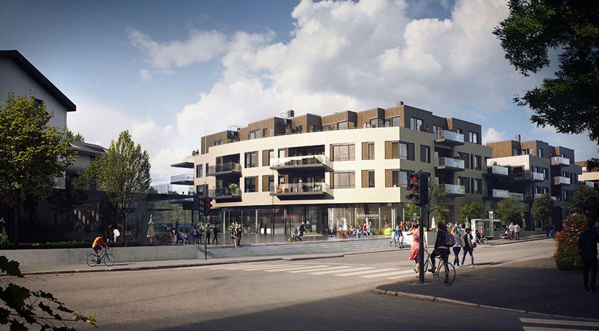 Arkitekt: Arcasa arkitekter AS/Landskapsarkitekt: Bjørbekk & Lindheim AS.