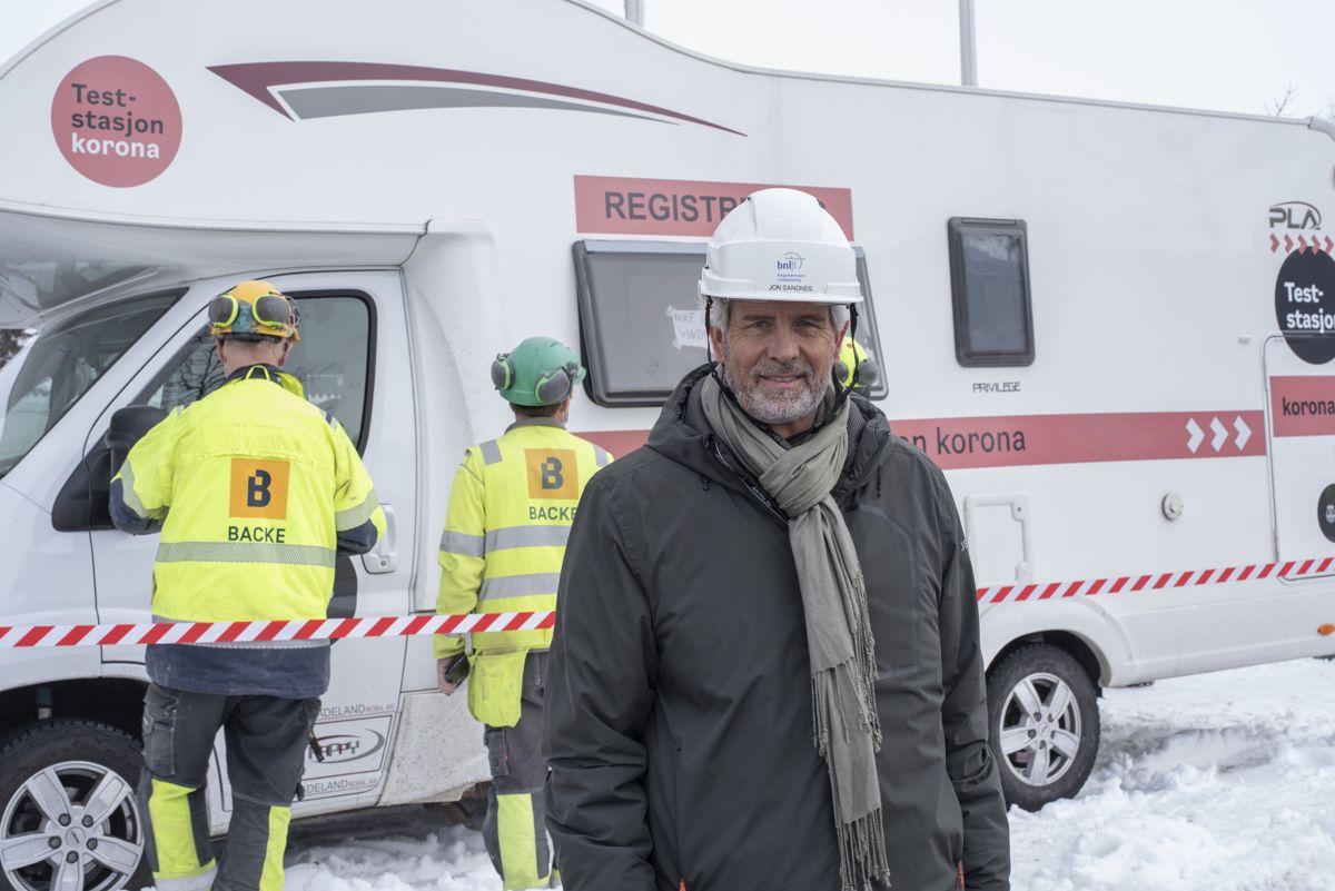Administrerende direktør Jon Sandnes i Byggenæringens landsforening.