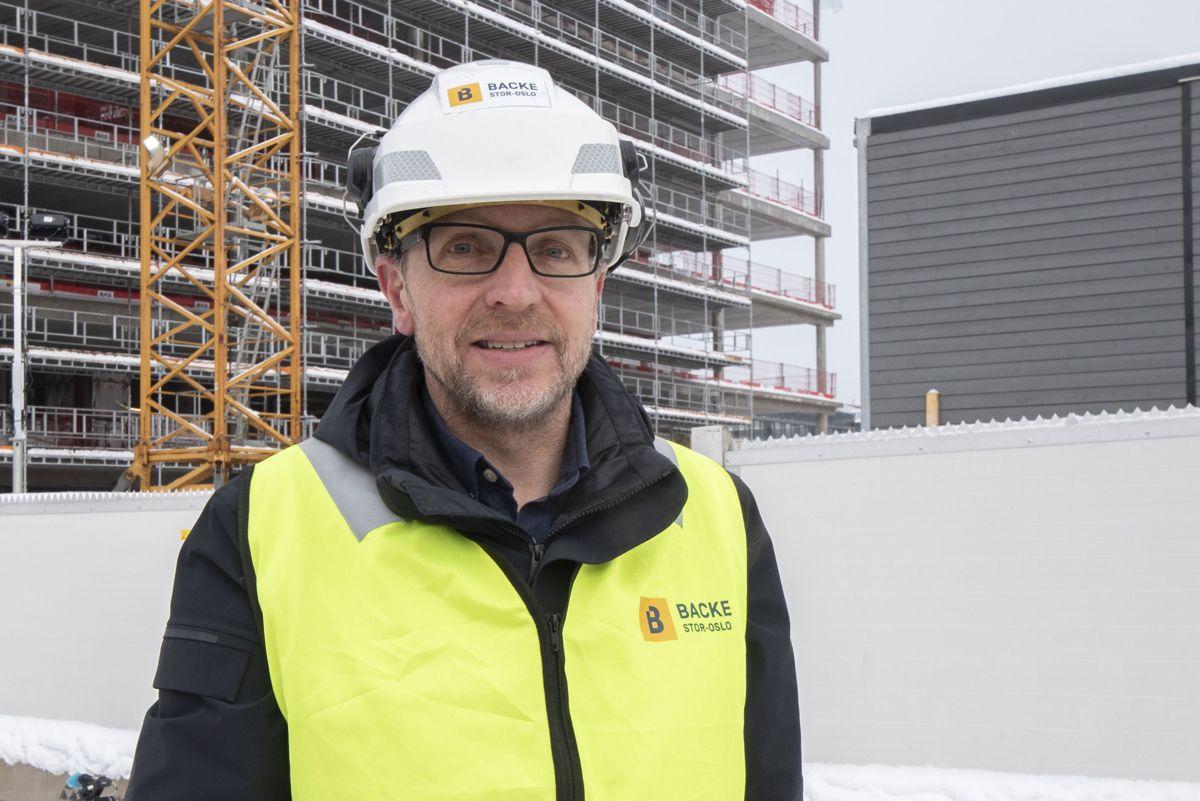 Administrerende direktør Arne Landmark i Backe Stor-Oslo.
