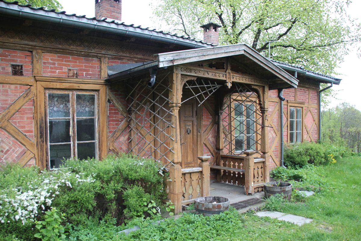 Gartneriboligen fra 1800-tallet skal rehabiliteres. (Foto: Svanhild Blakstad)